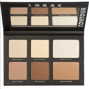 LORAC Pro Contour Palette & 2 Brushes